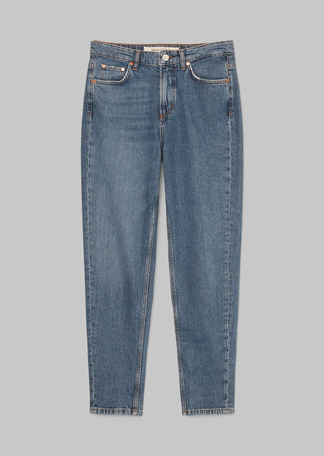 Jeans Mala slim high waist, mid authentic wash